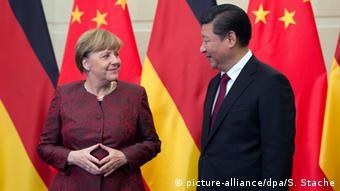 Merkel and Xi