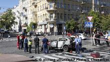 Ukraine Journalist Pawel Scheremet bei Explosion getötet