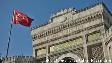 July 19, 2016. Türkei, Istanbul, Beyazit, die Universität Istanbul ist die grösste und eine der renommiertesten Universitäten in Istanbul und der gesamten Türkei. Haupteingang (c) picture-alliance/Rainer Hackenberg