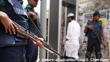 Bangladesch Polizei Moschee Islam