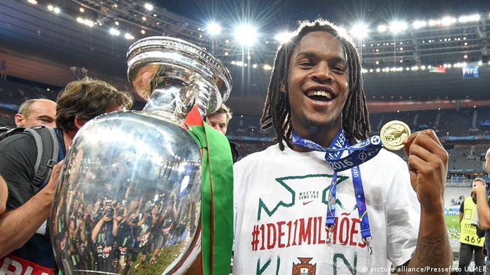 Fussball Europameisterschaft 2016 Finale: Portugal - Frankreich Renato Sanches (picture alliance/Pressefoto ULMER)