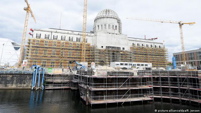 Humboldt Forum construction site in Berlin, Copyright: picture-alliance/dpa/R. Jensen