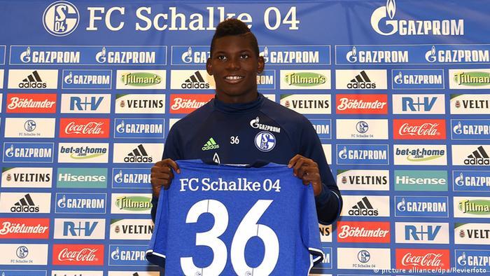 Vorstellung von Breel Embolo auf Schalke (picture alliance/dpa/Revierfoto)