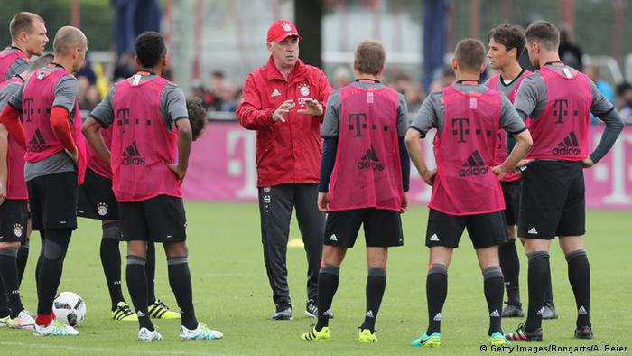 Carlo Ancelotti Trainer FC Bayern München (Getty Images/Bongarts/A. Beier)