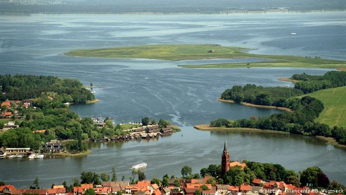 موریتسزه از مجموعه دریاچههای شرق آلمان است که با وسعت ۱۸۳ هکتار طبیعت بینظیری را در منطقه مکلنبورگ بوجود آورده است.