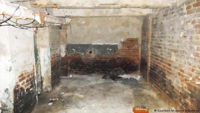 Підвал-катівня на території бомбосховища склозаводу Пролетарій у Лисичанську (архівне фото)
