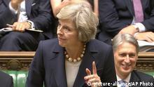 Theresa May Premierministerin Großbritannien