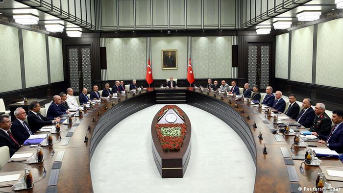Erdoğan başkanlığında bir MGK toplantısı (Arşiv)