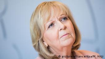 La política Hannelore Kraft del SPD.