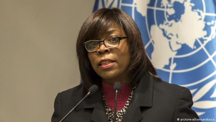 A portrait of WFP director Ertharin Cousin