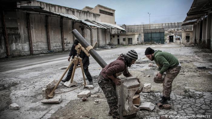 Syrien Aleppo Rebellen