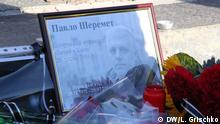 Ukraine Gedenkveranstaltung für Pavlo Sheremet in Kiew