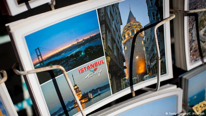 Türkei Postkarte Istanbul