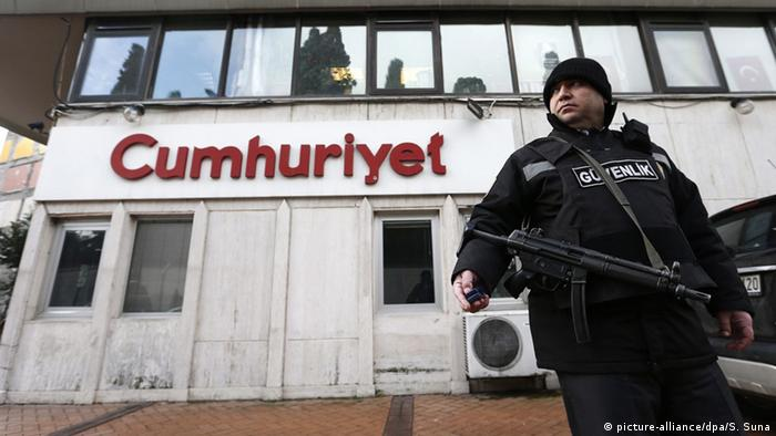 Türkei Cumhuriyet Tageszeitung