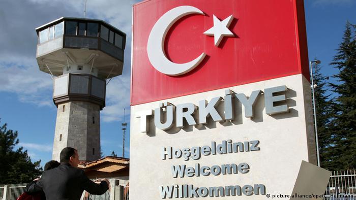 Türkei Grenze zu Bulgarien