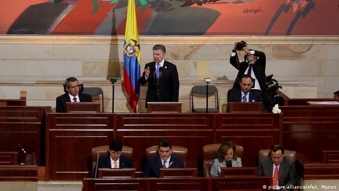 Kolumbien Präsident Juan Manuel Santos