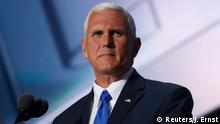 USA Parteitag der Republikaner in Cleveland Mike Pence