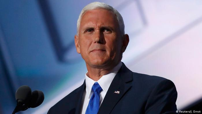 USA Parteitag der Republikaner in Cleveland Mike Pence (Reuters/J. Ernst)