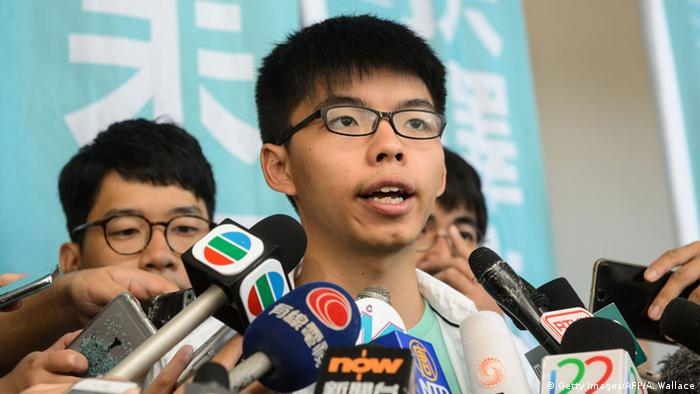 China PK Joshua Wong