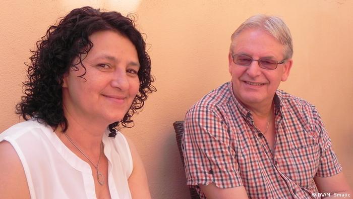 Dietmar Bandke sa suprugom Halidom iz Dürena pored ostalog pruža savjete medicinskom osoblju iz BiH koje želi raditi u Njemačkoj.