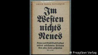 Im Westen nichts Neues von Erich Maria Remarque (Propyläen Verlag)