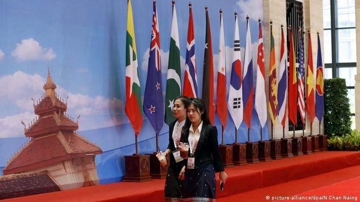 ASEAN Gipfel in Laos (picture-alliance/dpa/N.Chan Naing)