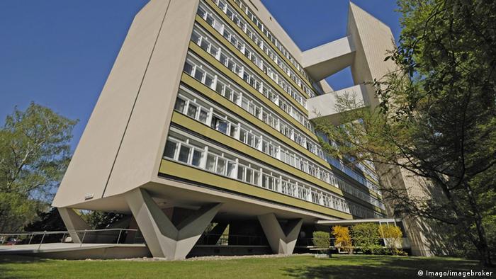 Oscar Niemeyer-Haus in Berlin Foto: Imago/imagebroker