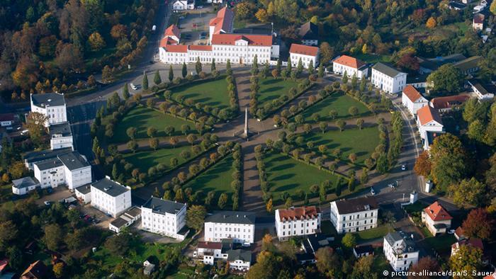 Stadt Putbus auf Rügen