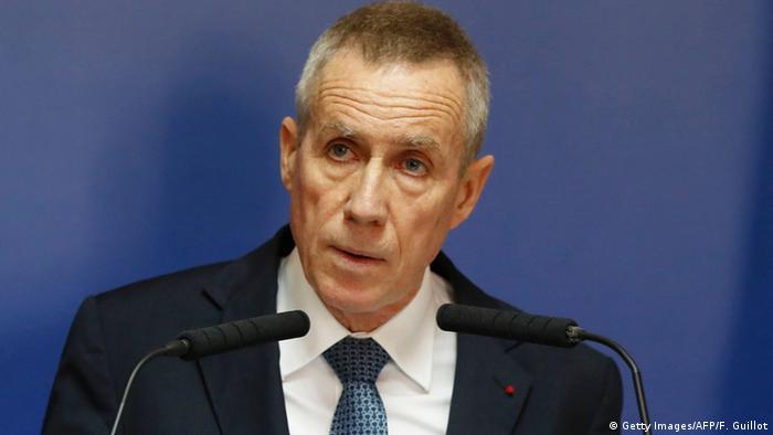 Frankreich Francois Molins Pressekonferenz in Paris (Getty Images/AFP/F. Guillot)