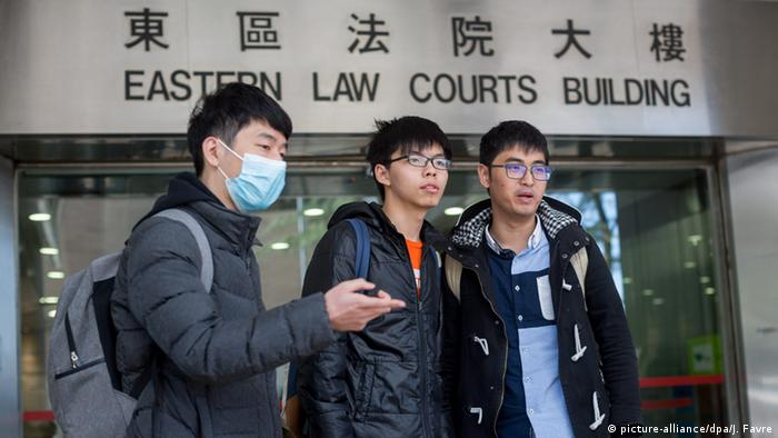 Hong Kong Studenten Aktivismus (picture-alliance/dpa/J. Favre)