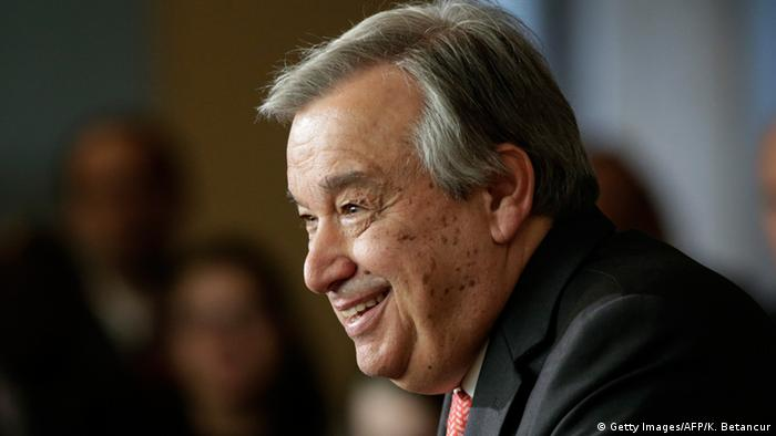 USA Antonio Guterres in New York