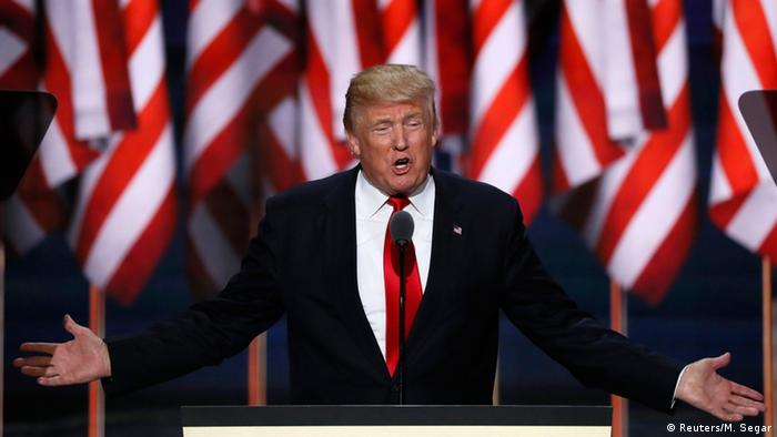 USA Republican National Convention in Cleveland Donald Trump Rede
