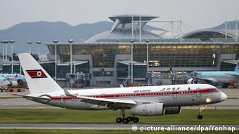 Air Koryo Flugzeug Nordkorea (picture-alliance/dpa/Yonhap)