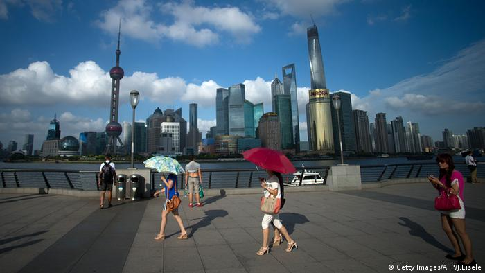 China Shanghai Hitze (Getty Images/AFP/J.Eisele)
