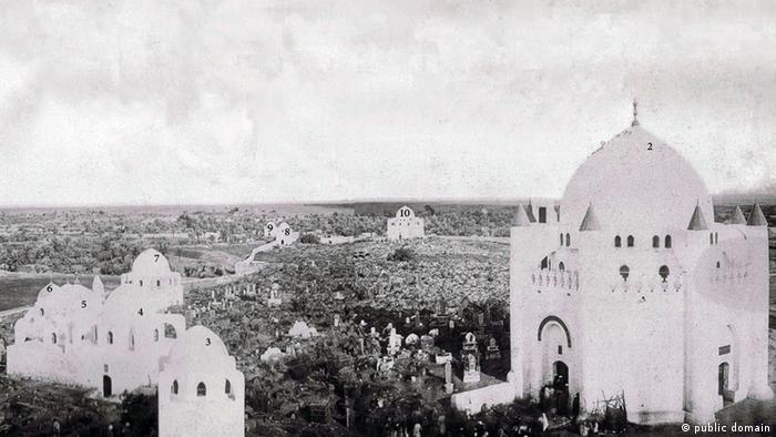 Islamischer Freidhof Al Baqi von Medina