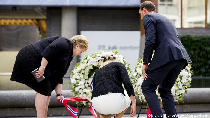 A wreath-laying ceremony in Oslo to commemorate the five year anniversary of the 2011 Utoya and Oslo attacks