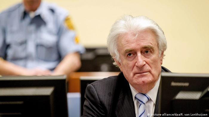 Karadžić je u martu 2016. godine osuđen na 40 godina zatvora za ratne zločine u Srebrenici i BiH od 1992. do 1995. godine.