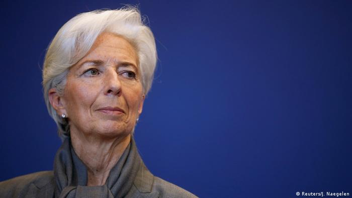 Christine Lagarde (Reuters/J. Naegelen)