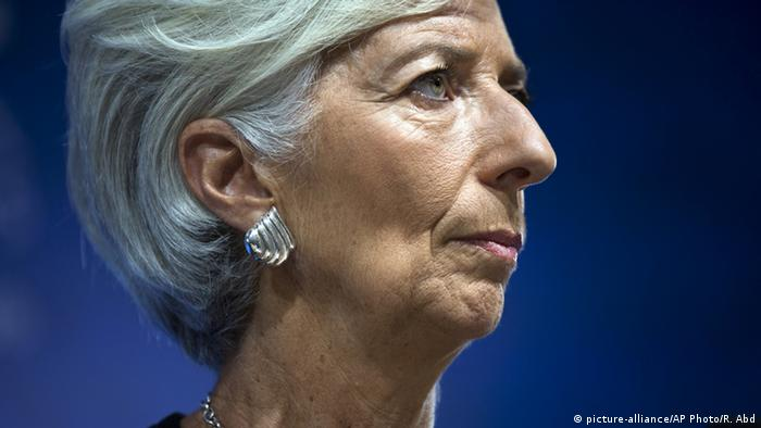 Christine Lagarde (picture-alliance/AP Photo/R. Abd)