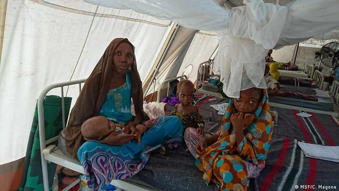 Nigeria Ärzte ohne Grenzen in Borno