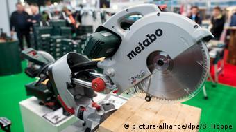 Scie circulaire de Metabo (photo-alliance / dpa / S.Hoppe)