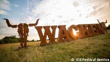 Deutschland Wacken-Logo-Installation