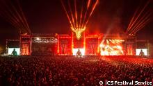 August 2015+++ Wacken Open Air - Hauptbühne bei Nacht (c) ICS Festival Service