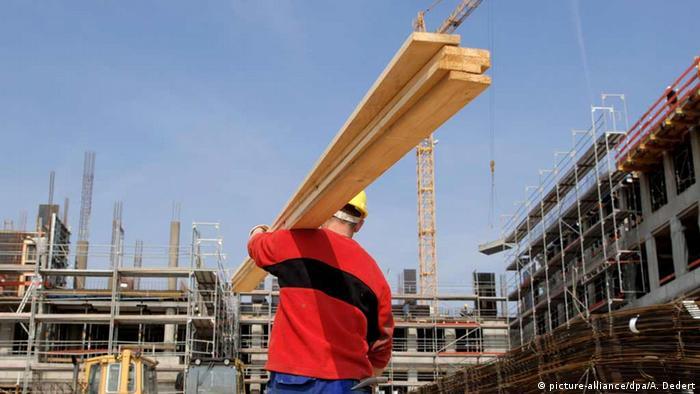 Polnischer Bauarbeiter