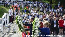 Norwegen Huldigung an die Opfer der Attacke in Utoya