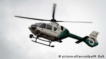 Вертолет в Мюнхене