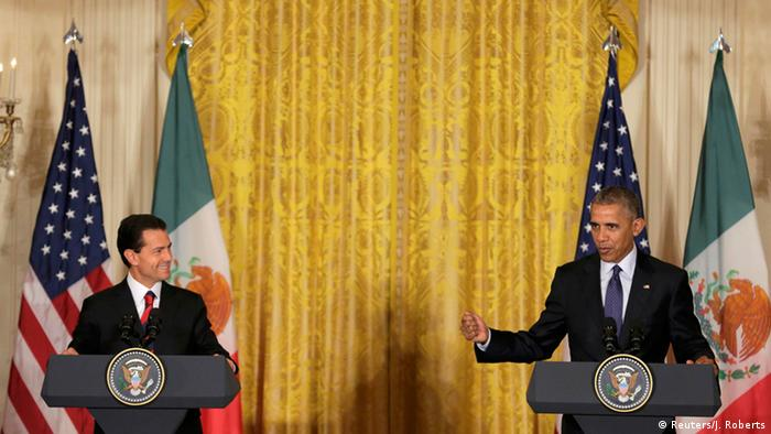 USA Washington PK Präsident Barack Obama und Enrique Pena Nieto