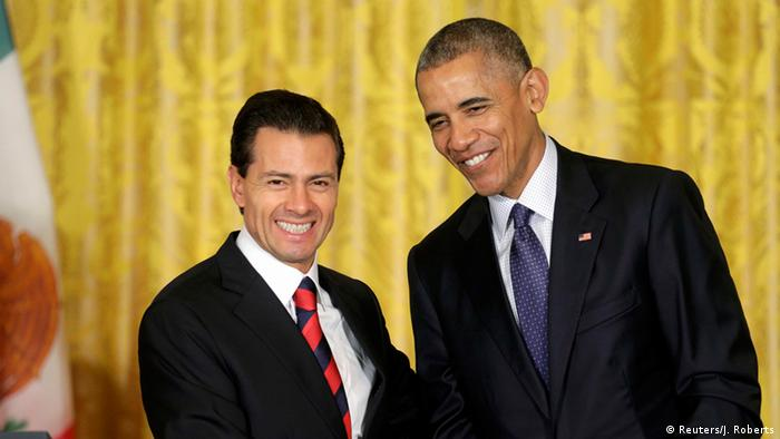 USA Washington PK Präsident Barack Obama und Enrique Pena Nieto (Reuters/J. Roberts)