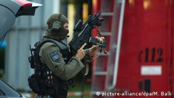 Спецназ в Мюнхене