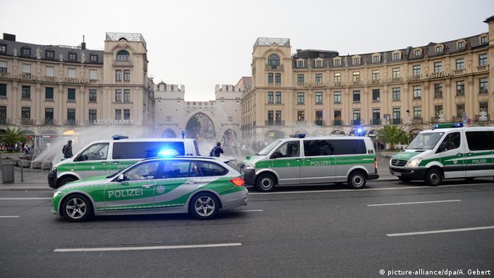 Ação policial em Munique